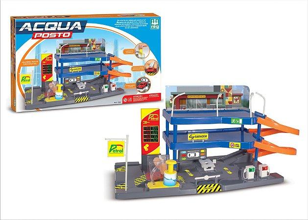 Acqua Posto Gasolina Lava Rapido - Nig Brinquedos