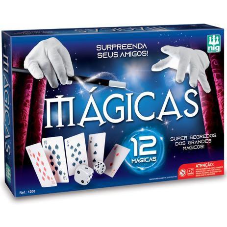 Jogo Kit 12 Magicas - Nig