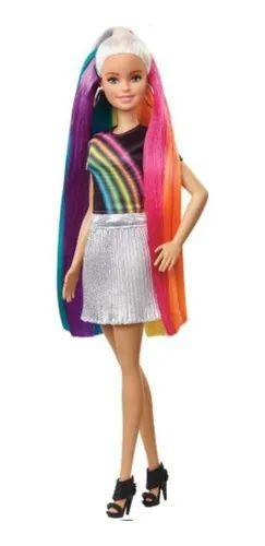 Boneca Barbie Penteados De Arco-iris - Mattel