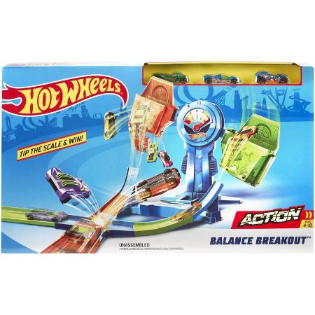 Pista Hot Wheels Equilíbrio Extremo - Mattel