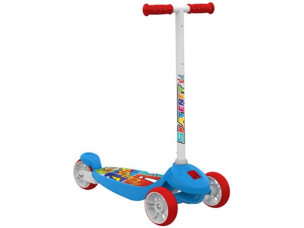 Patinete 3 Rodas Skatenet Kid - Bandeirante