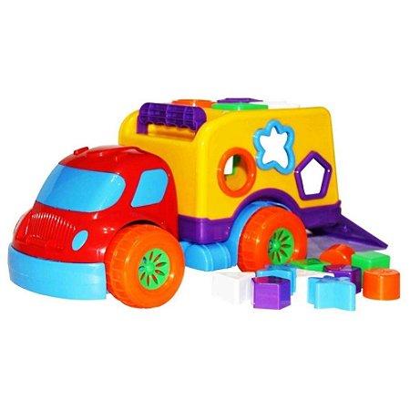 Caminhão Pedagógico Atividades Robustus Diver For Baby - Diver Toys