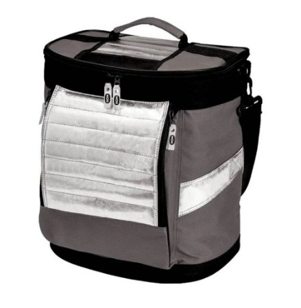 Bolsa Térmica Ice Cooler 18L Cinza Chumbo - Mor