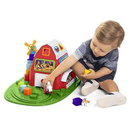 Brinquedo Educativo Fazendinha Vermelha - Calesita