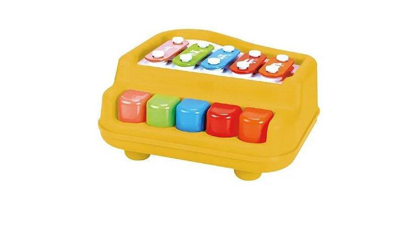 Piano Xilofone Baby 5 Notas - Dm Toys