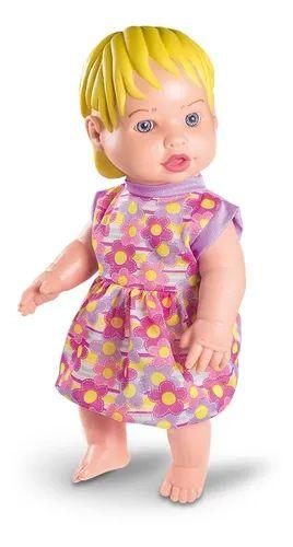 Boneca Bebê My Hair Faz Xixi - Milk Brinquedos