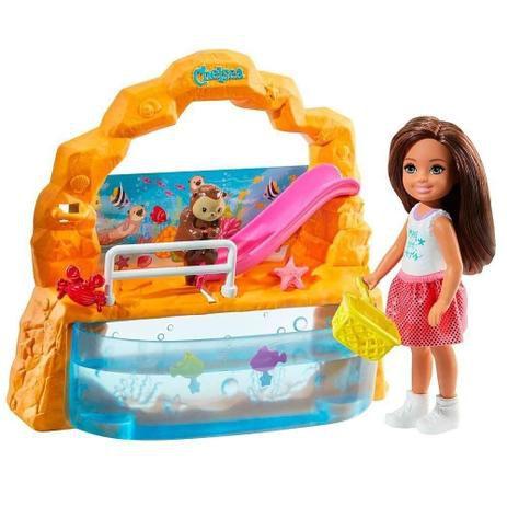 Barbie Family Conjunto Da Chelsea Aquário - Mattel