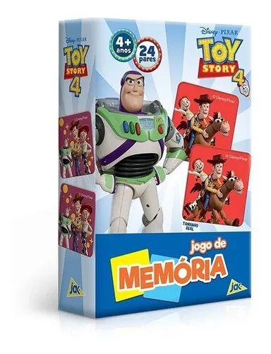 Brinquedo Jogo Da Memória Toy Story 4 Disney Pixar - Toyster