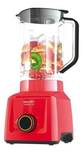 Liquidificador Mallory Taurus, 1000 Vermelho - 127v