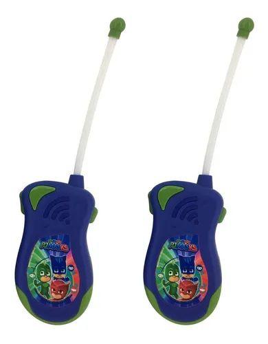 Brinquedo Radio Walkie Talkie Infantil Pjmasks - Candide
