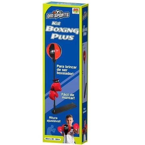Kit Boxing Plus Sports - Dm Toys