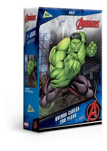 Jogo Quebra-Cabeça Hulk 200PCS - Toyster