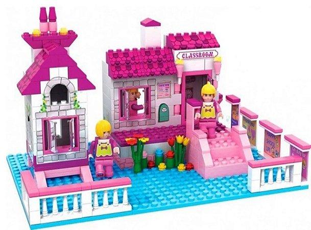 Bloco de Montar Infantil 248 Peças Castelo da  Fantasia - Vip Toys