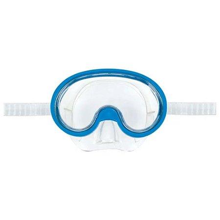 Máscara Mergulho Infantil - Azul - Mor