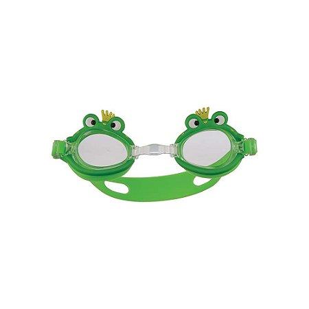 Óculos de Natação Antiembaçante Bichinho Sapo Verde - Mor