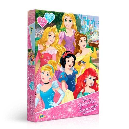 Jogo Quebra-Cabeça Princesa 100PCS - Toyster