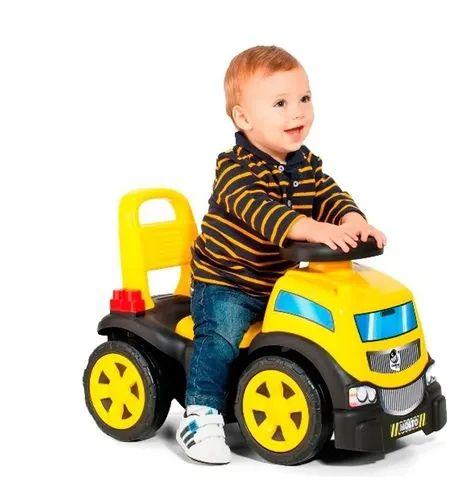 Totoka De Empurrar Blocks Truck In Ride Baby Land Menino - Cardoso