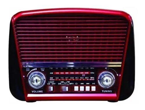 Radio Retro Bluet.USB.Pilha - FSound