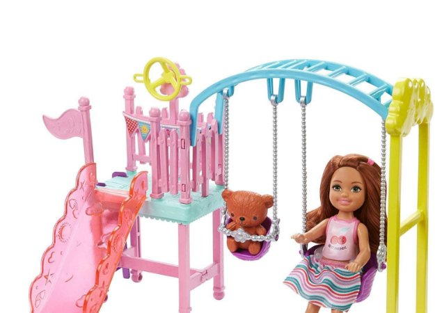 Conjunto Balanço Club Chelsea Barbie - Mattel