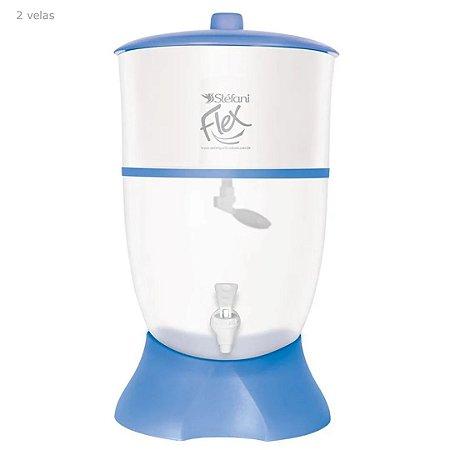 Filtro Acilico  Flex  Azul 6 Litros 1 Vela - Stefani