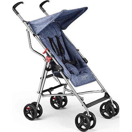 Carrinho de Bebê MultiKids Pocket Azul