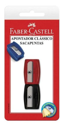 Apontador Sem Deposito Simples Classico Sortido Bl.c/02