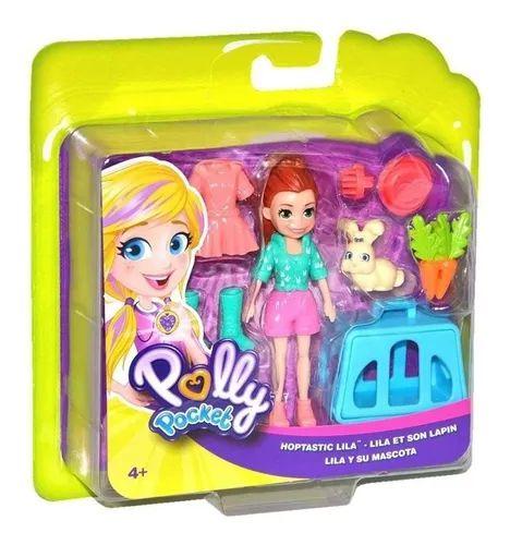 Boneca com Bichinho Polly - Mattel