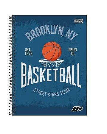 Caderno 20x1 Basket Capa Dura 400 Folhas Tilibra
