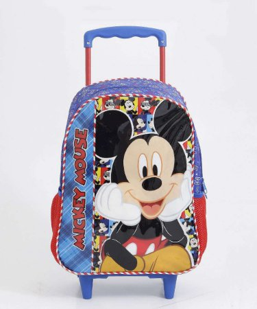 Mochila C/Roda Mickey - Xeryus