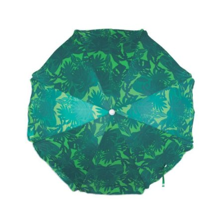 Guarda-Sol Fashion 1,60m Estampa Verde Escuro - Mor