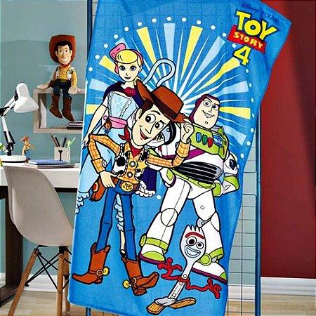 Toalha de Banho Infantil Velour Toy Story 07 - Dohler