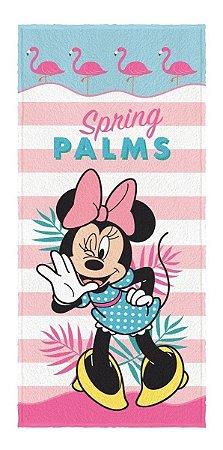 Toalha Banho E Praia Kids Disney Minnie Infantil - Lepper