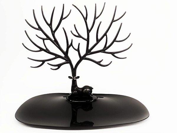 Porta Joia de Plastico Cervo Preto - Amigold
