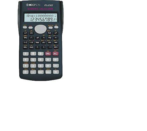 Calculadora Científica Hoopson 10+2 Dígitos Pilha AAA - PS-82MS