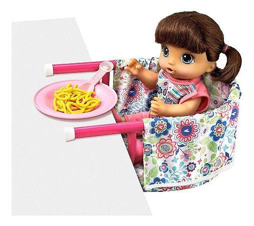 Cadeirinha de Refeição Baby Alive Hasbro - Laço de Fita