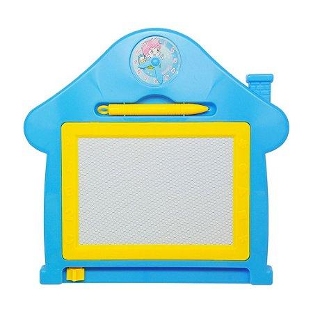 Quadro Mágico Casa Azul - Dm Toys
