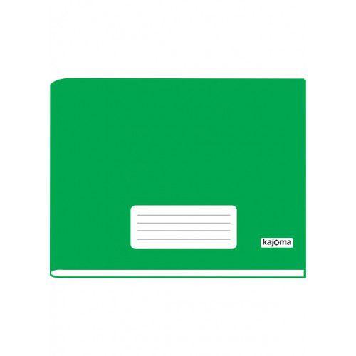 Caderno Verde Horizontal 96FLS - Kajoma