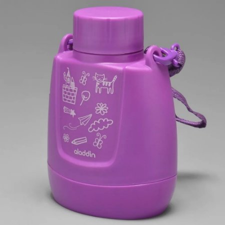 Cantil Térmico 300ml Roxo Kids - Aladdin