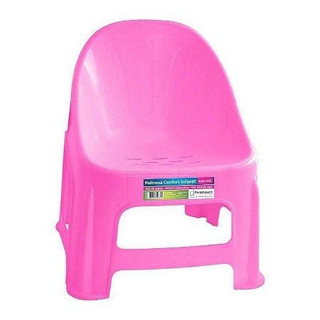 Poltrona Cadeira Infantil Confort Rosa- PARAMOUNT