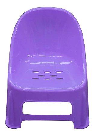 Cadeira Poltrona Confort Infantil Lilás- Paramount