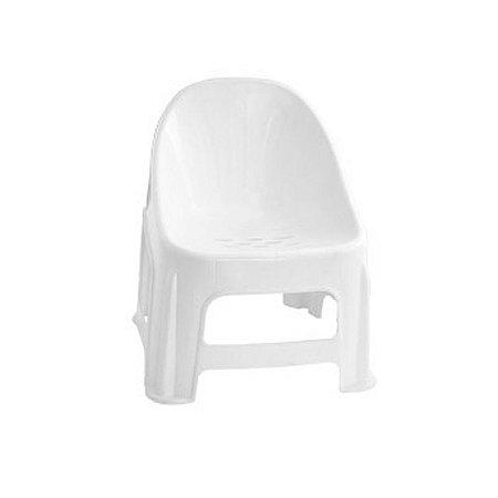 Cadeira Poltrona Confort Infantil Branco - Paramount
