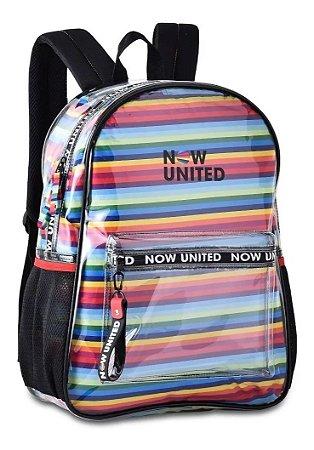 Mochila Transparente Oficial Now United