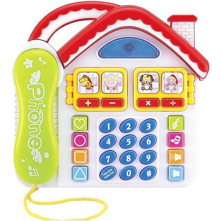 Telefone Divertido Casa - Dm Toys