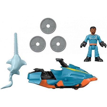 Figura Básica Imaginext Patrulha Do Tubarão JET-SKI - Mattel