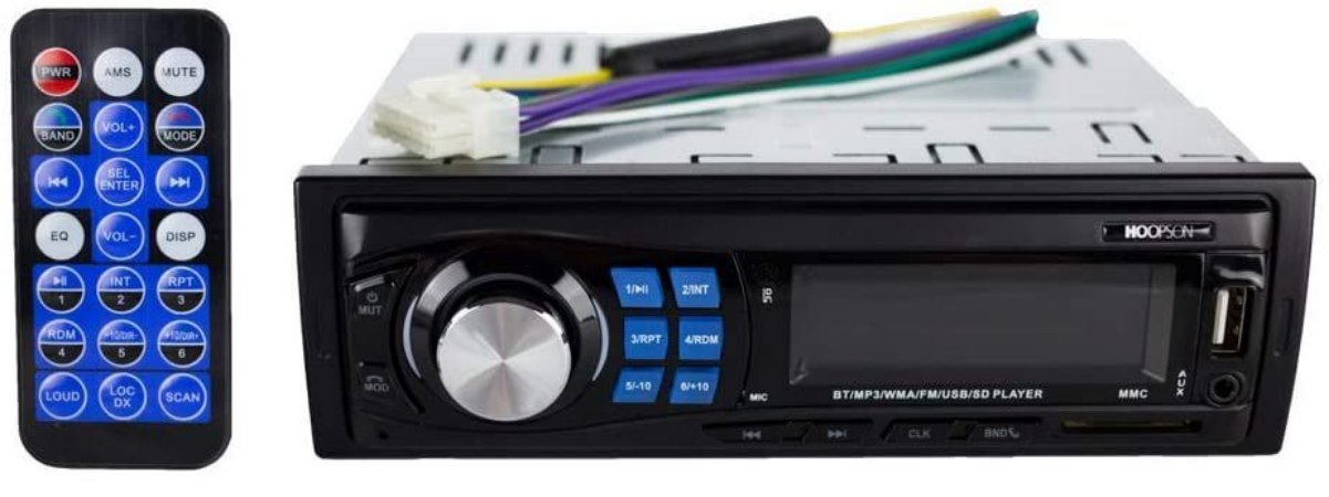 Radio Automotivo Bluetotoh Hoopson APC-002