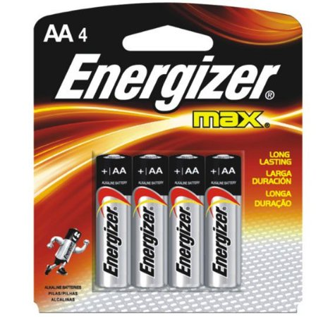Pilha Energizer Max Power Seal Pequena AA4