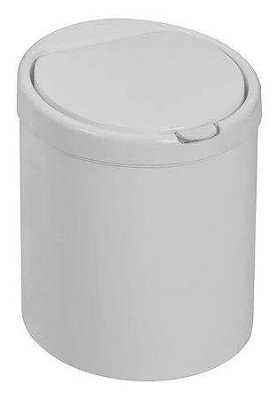 Lixeira Click Branca 3 Litros - Viel