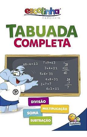 Livro Escolinha Tabuada Completa - TodoLivro