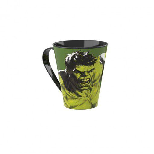 Caneca de Plástico 360 ml Avengers Hulk - Plasutil