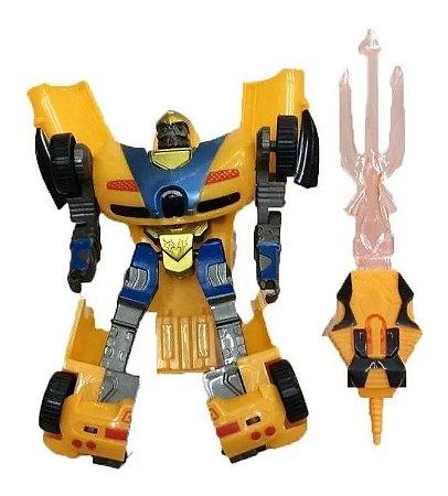 Boneco Robot Warriors Zoop Toys